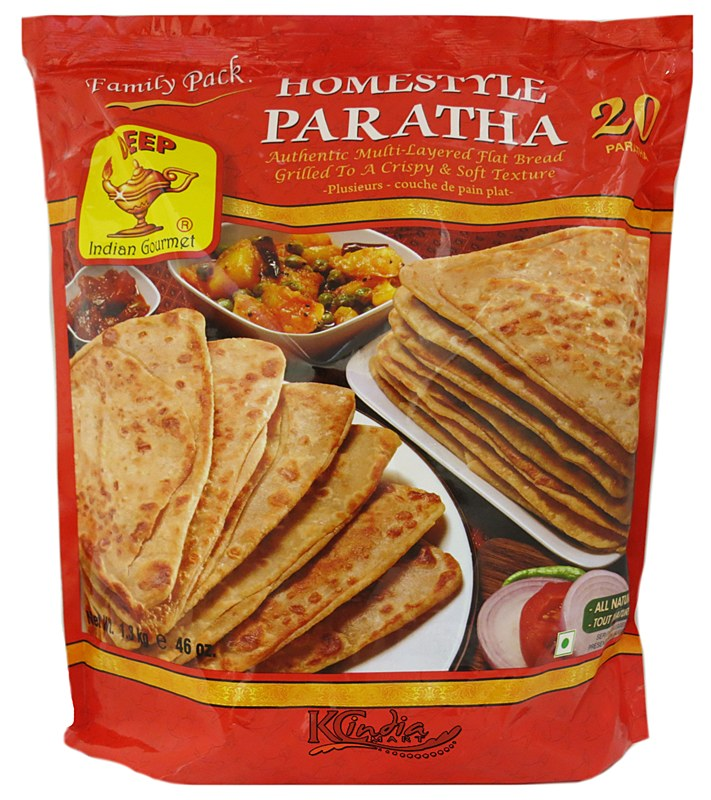 Homestyle Paratha – Deep Foods