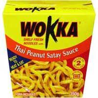 Thai Peanut Satay Sauce Noodle Box – Wokka