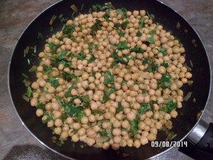 Channa (Spicy Chickpeas)