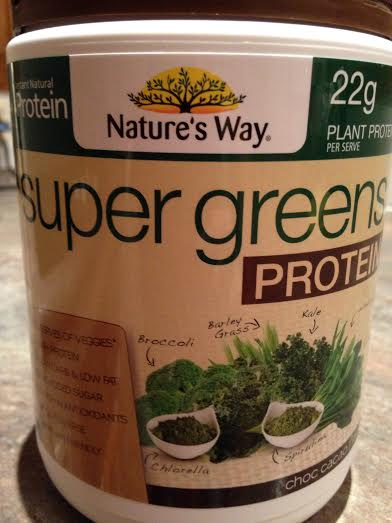 Nature's Way Super Greens Protein Powder