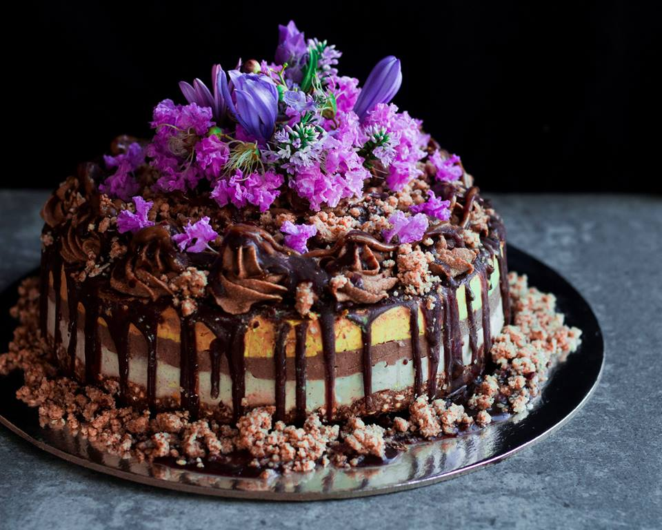 Golden Gaytime Cake by Rainbow Nourishments