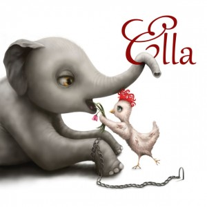 'Ella' (Picture Book) by local Vegan author, Nicole Godwin