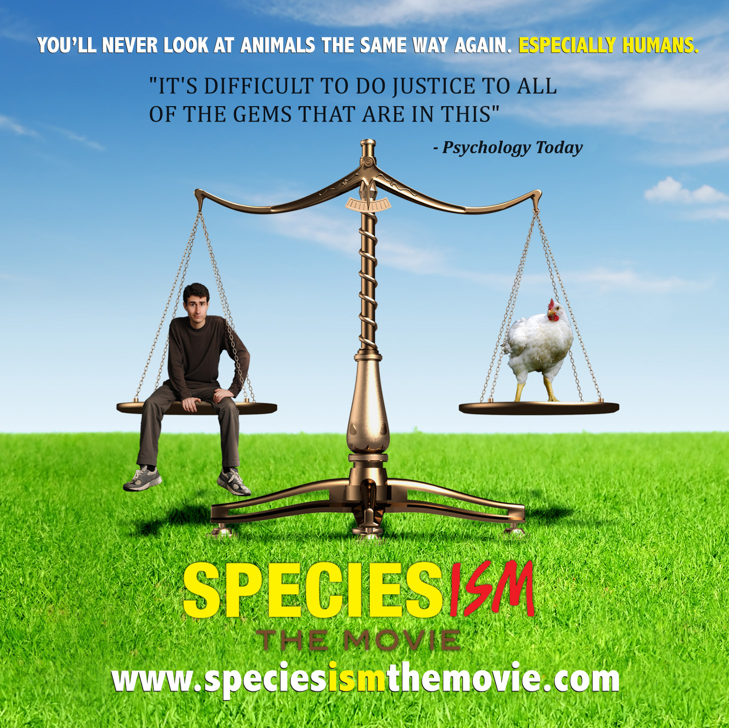 Speciesism the Movie (DVD) – $20