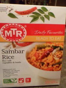 MTR's Sambar Rice