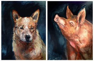 Dog and Pig by Shan Crosbie