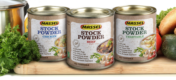 All Massel Stock Powder is Vegan! (Vegetable, Beef and Chicken Flavour)
