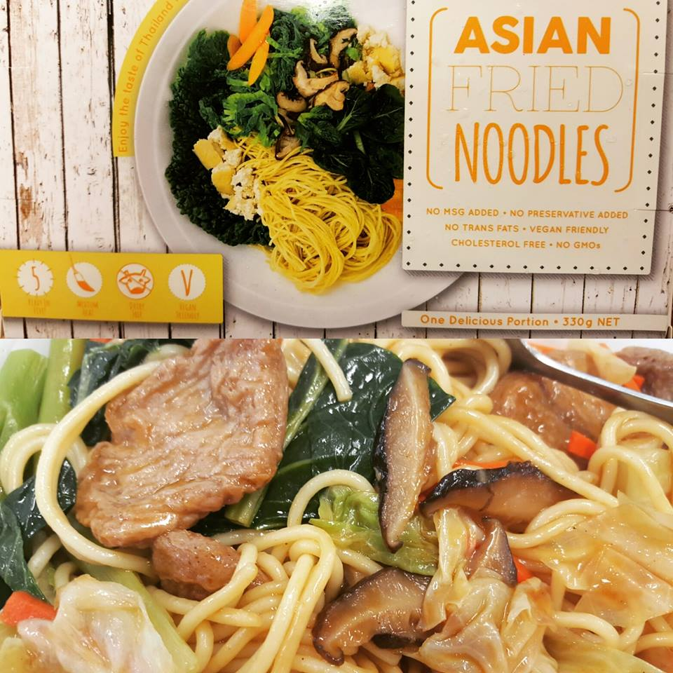 Asian Fried Noodles available @ Let's Be Natural, Mawson