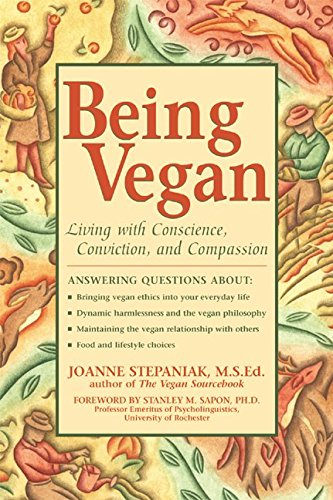 Book Review of Being Vegan by Joanne Stepaniak