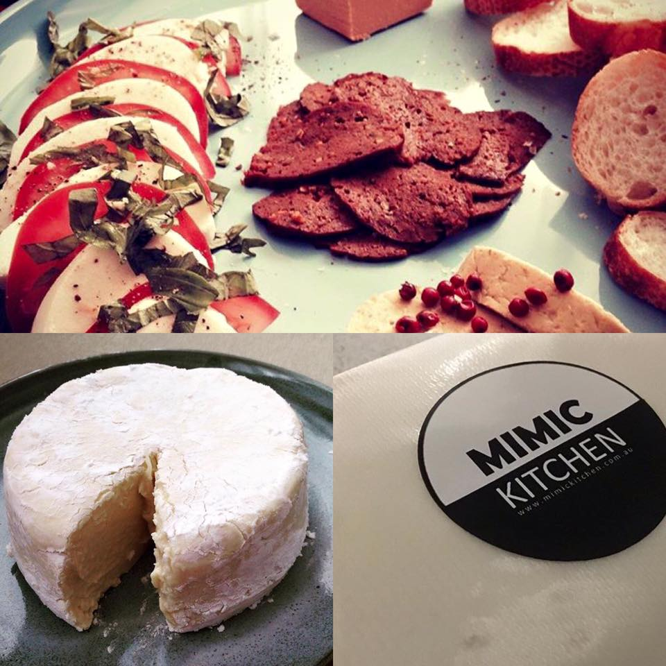 Mimic Kitchen:  Vegan Cheese and Deli Goods