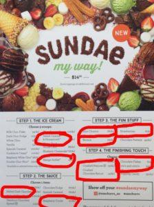 Vegan Sundae Available @ San Churro