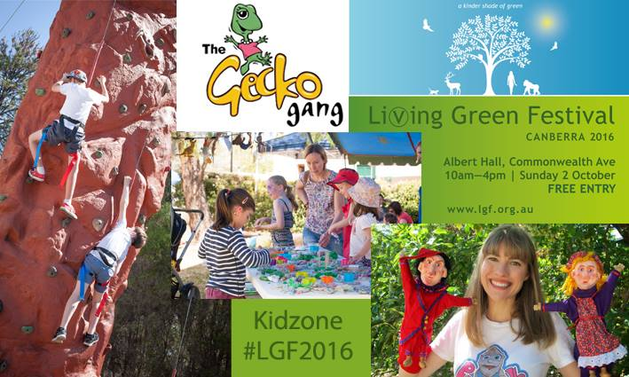 Donate unneeded household items for Kidzone craft activities at the Living Green Festival  (Sunday, 2 October 2016)