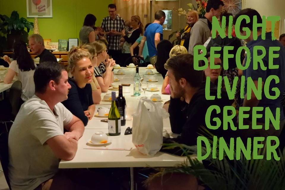 (Buy Tickets Here!) Night Before Living Green/ICAS Conference Dinner – Saturday, 1 October 2016