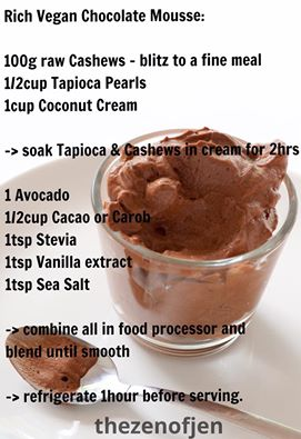 Rich Vegan Chocolate Mousse Recipe