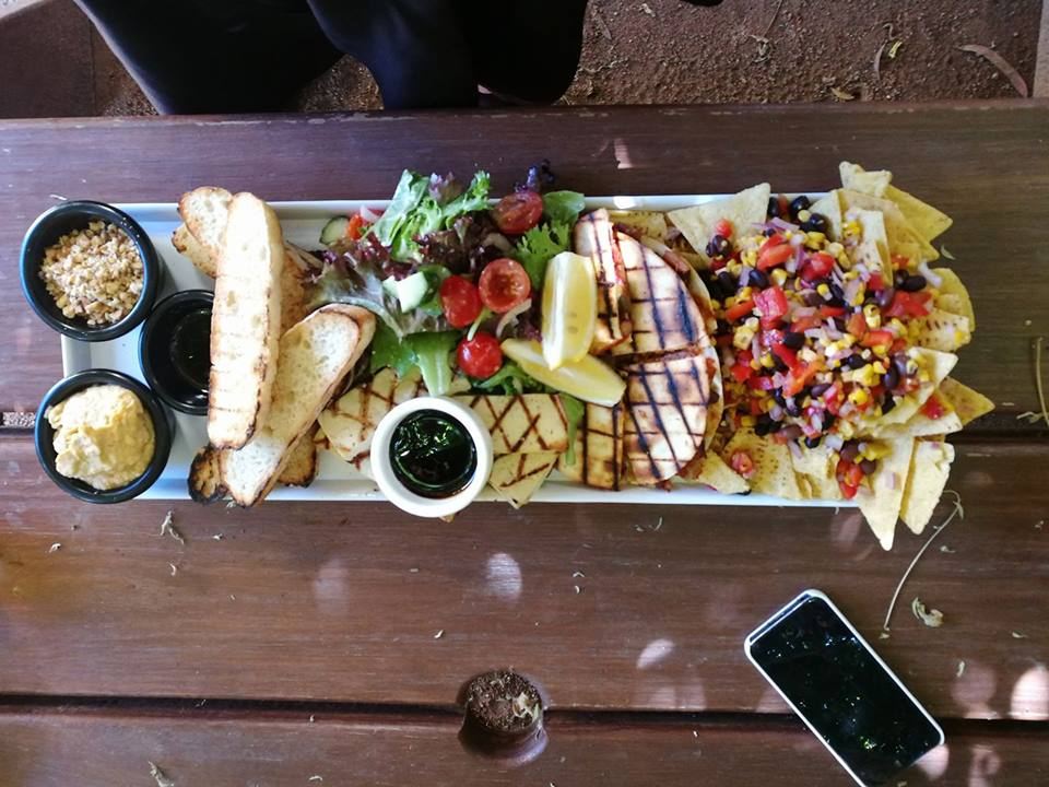 Vegan Platter @ The Old Canberra Inn, Lyneham