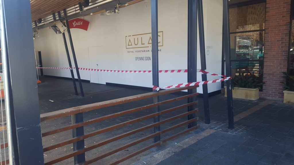 Au Lac Vegan Restaurant Coming Soon to Woden!  (Approx Mid-June 2017)