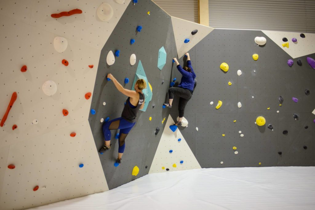 BlocHaus Canberra Climbing Gym in Fyshwick (Vegan Owners)