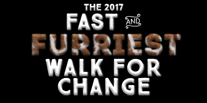 Participate in Little Oak Sanctuary's Fast and Furriest Walk for Change – Sunday, 20 August 2017