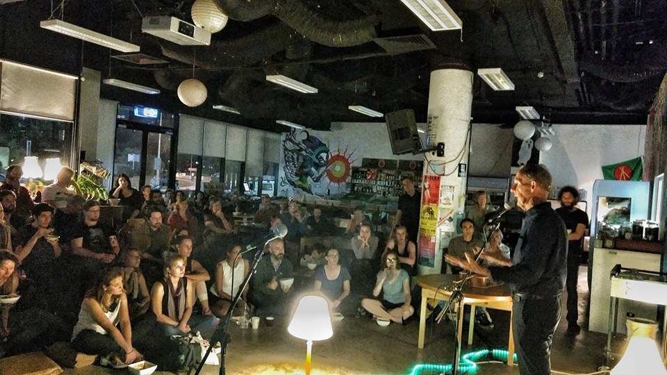 Acoustic Soup (Vegan & Gluten Free) @ the Food Co-op – Wednesday, 30 August 2017