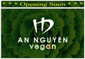 An Nguyen Vegan, Kingston – Opening Wednesday, 19 July 2017