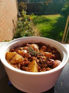 Potato and Kalamata Olive Stew Recipe by Gareth