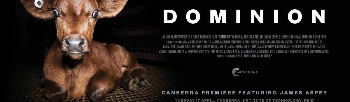 Dominion Canberra Premiere featuring James Aspey and Director Q&A – Tuesday, 17 April 2018