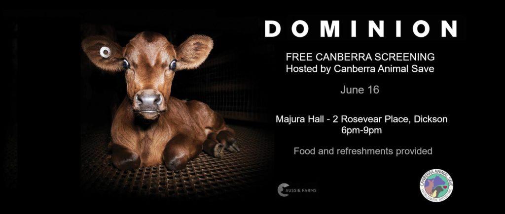 Free Dominion Screening – Saturday, 16 June 2018