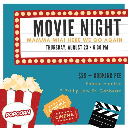 Mamma Mia Movie Night Fundraiser for Lucky Stars Sanctuary @ Palace Electric – Thursday, 23 August 2018