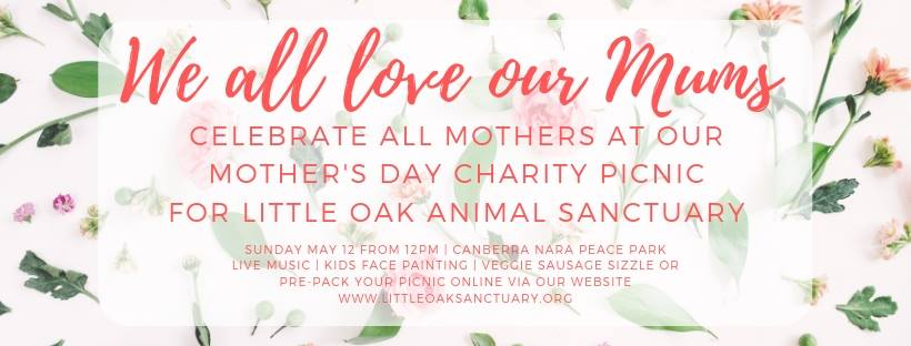 Mother's Day Charity Picnic for Little Oak Animal Sanctuary – Sunday, 12 May 2019