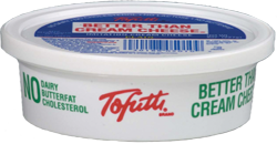 Tofutti Dairy Free Cream Cheese, Sour Cream and Ricotta
