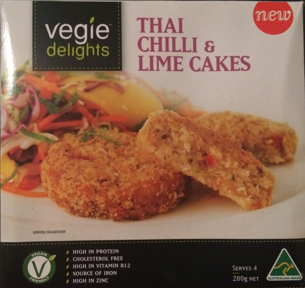 Thai Chilli & Lime Cakes – Vegie Delights