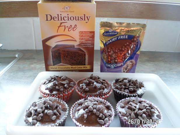 Deliciously Free Mudcake Mix