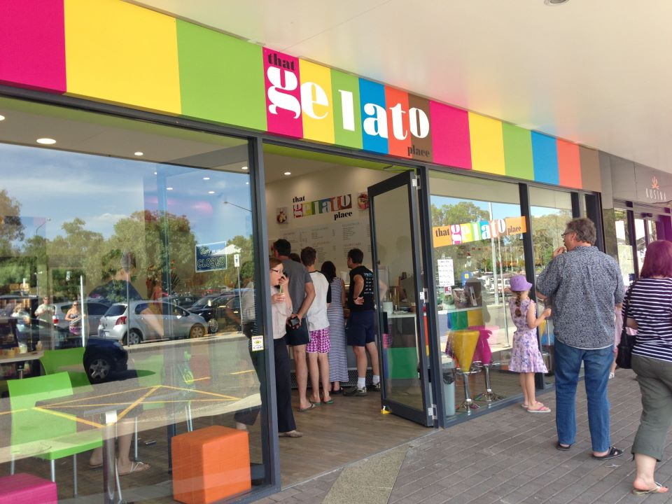 That Gelato Place, Weston Creek
