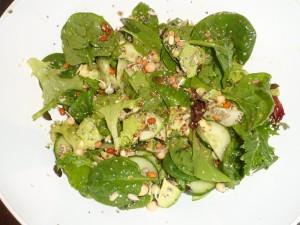 Easy Green Superfood Salad