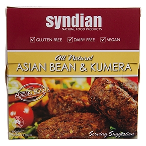 Asian Bean & Kumera Burgers – Syndian