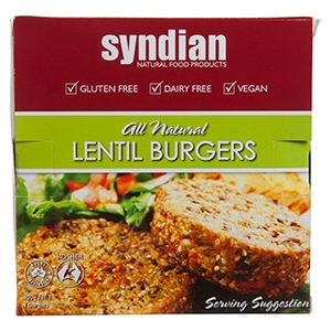 Syndian Lentil Burgers