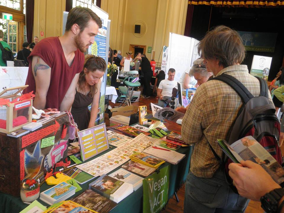 Vegan ACT Stall LGF