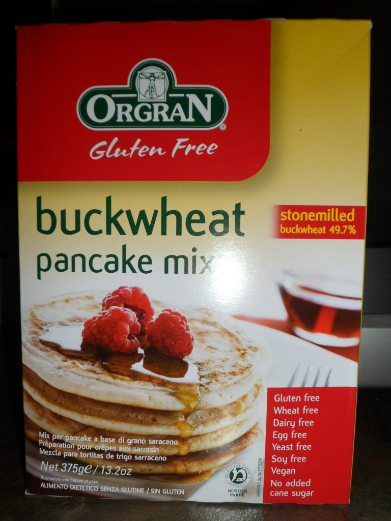 Buckwheat Pancake Mix – Orgran