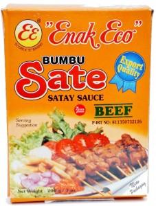 Enak Eco Bumbu Sate Satay Sauce
