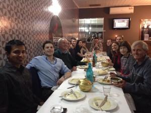 Vegan ACT Social Dinner at Kippax Curry House – Saturday, 22 August 2015