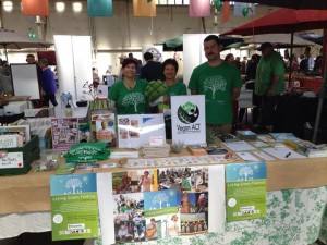 Vegan ACT and Living Green Festival Stalls at Green Savvy – Sunday, 20 September 2015