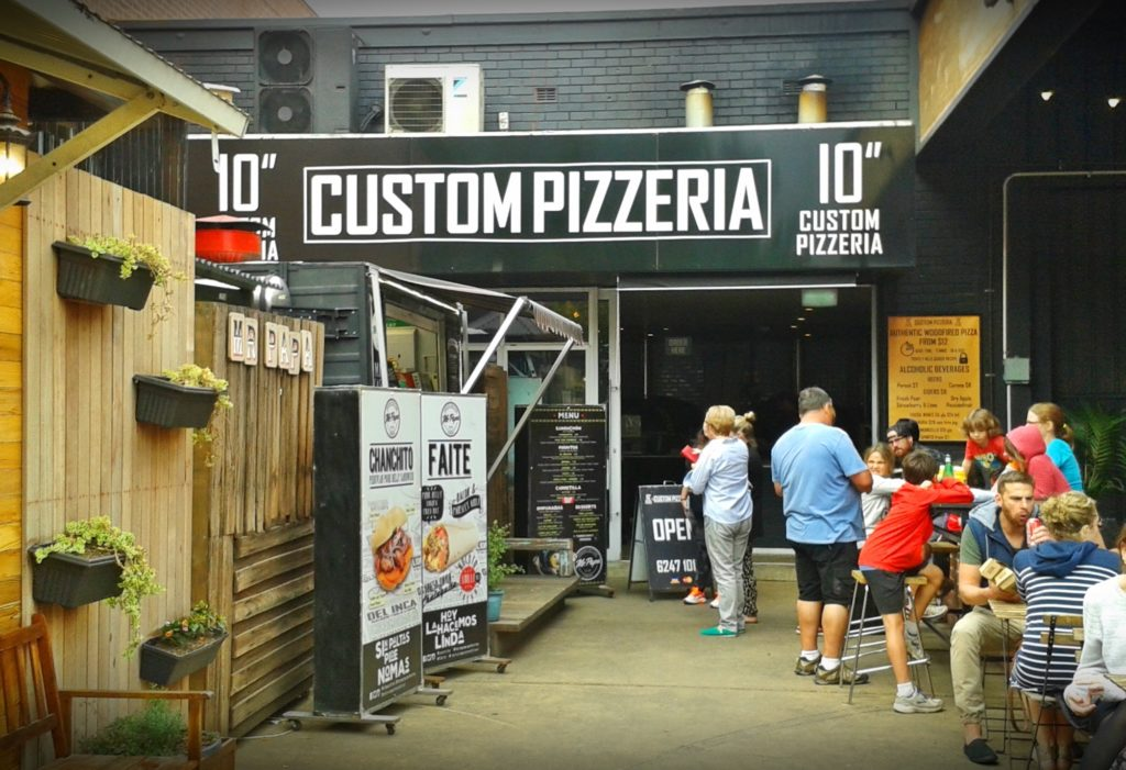 10'' Custom Pizzeria, Braddon (Vegan-Friendly)