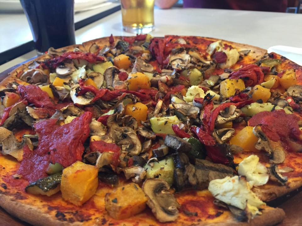 Veggie Supreme Pizza Minus Cheese