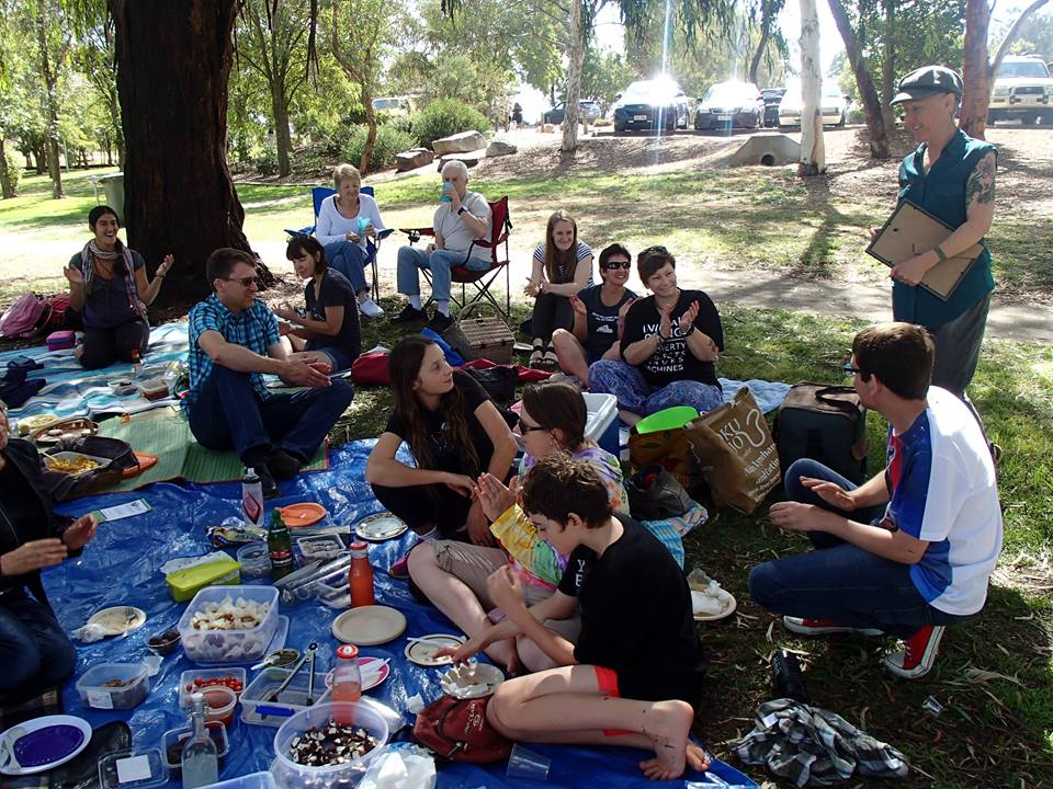 Vegan ACT Potluck Picnic for Jyoti – 3 April 2016