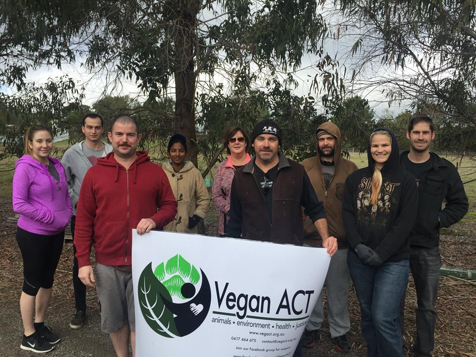 Working Bee @ A Poultry Place with Vegan ACT – Saturday, 19 November 2017