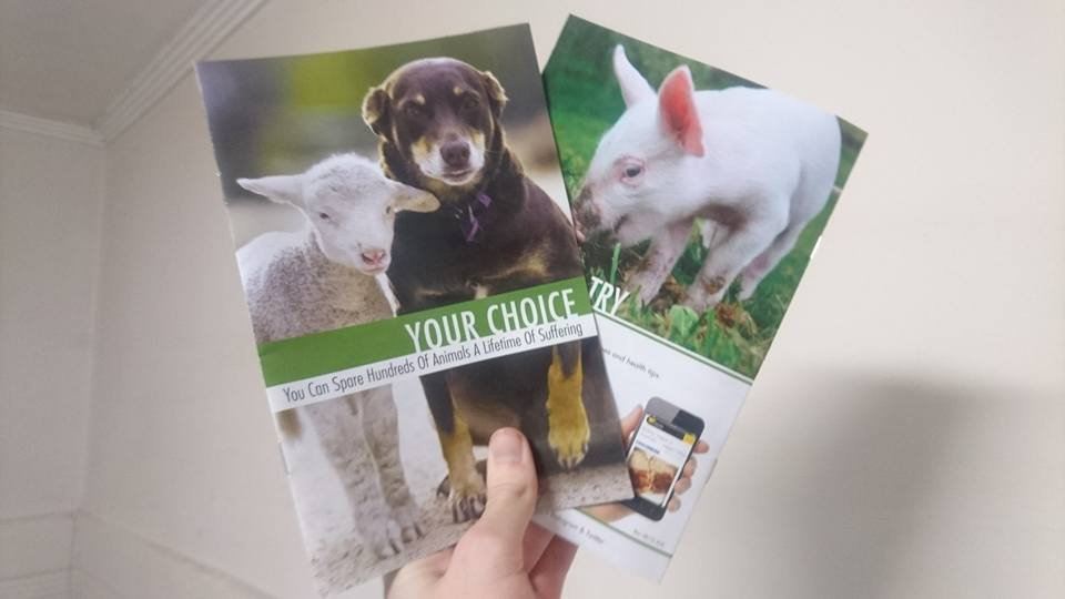 Vegan Outreach Booklet