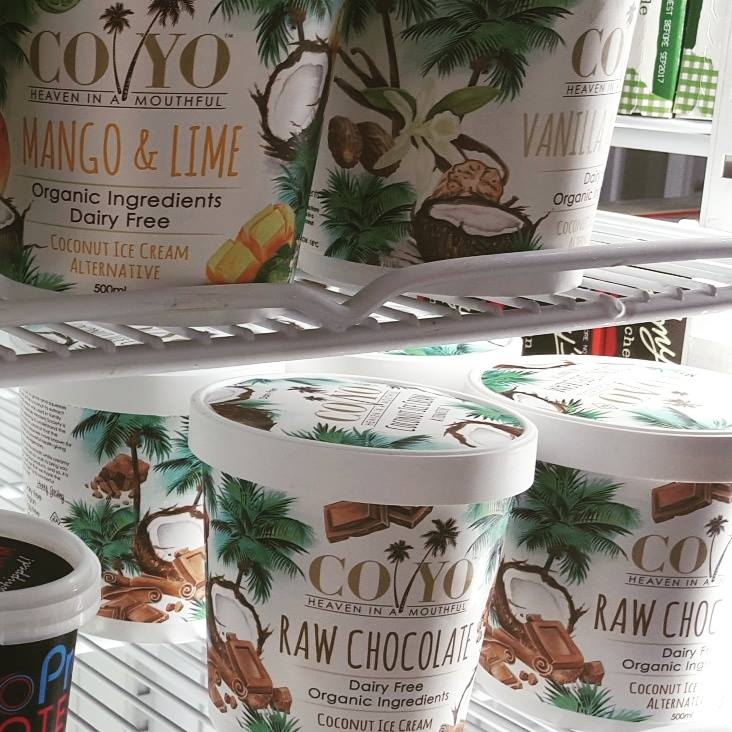 Coyo Coconut Icecream @ Let's Be Natural