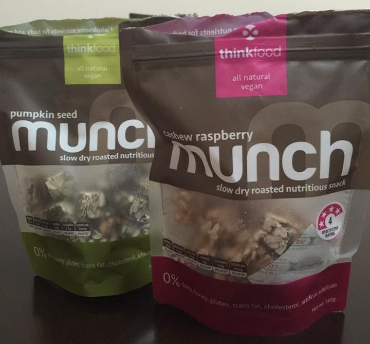 Thinkfood Munch available @ ACT supermarkets