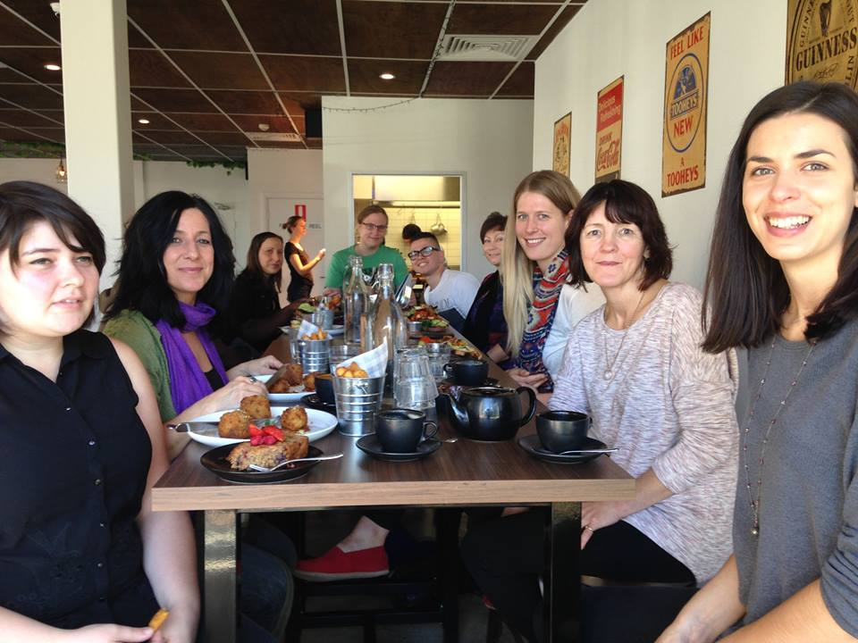 Vegan ACT Brunch at Lazy Mays in May 2016