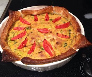 Lisa's Vegan Quiche