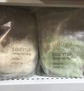 Pashmak (Persian Fairy Floss) @ Deli Cravings, Belconnen Markets